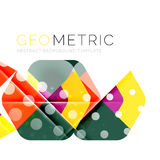 Geometrical minimal abstract background with light effects. Vector Royalty Free Stock Photo