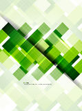 Geometrical nowożytny szablon Zdjęcia Royalty Free