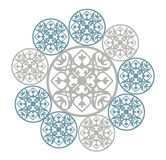 Geometrical ornament Ilustracji