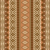 Geometrical ornamental pattern african style Royalty Free Stock Images