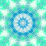Geometrical ornamental textile pattern Royalty Free Stock Images