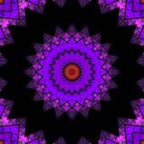 Geometrical ornamental textile pattern Stock Photography
