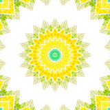 Geometrical ornamental textile pattern Stock Photos