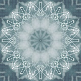 Geometrical ornamental textile pattern background Stock Photos