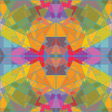 Geometrical pattern, abstract mosaic vector Royalty Free Stock Photos