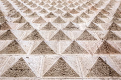Geometrical pattern architectural decoration Stock Images