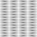 Geometrical pattern black and white color. Stock Images