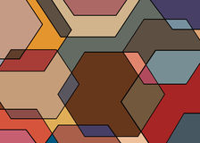 Geometrical pattern Royalty Free Stock Photography