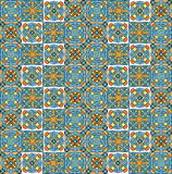 Geometrical pattern, set of small parts Royalty Free Stock Photo