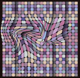 Geometrical pattern, square set, color tiles Royalty Free Stock Photo