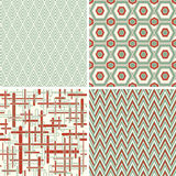 Geometrical patterns in abstract style Royalty Free Stock Photo