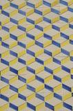 Geometrical Portuguese tile Stock Images