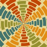 Geometrical retro vector abstract background Royalty Free Stock Photos