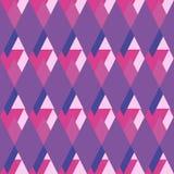 Geometrical rhombus seamless pattern Stock Photo