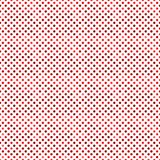 Geometrical seamless dark red dot pattern background. Geometrical seamless dot pattern background - dark red abstract vector graphic design vector illustration