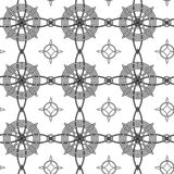Geometrical seamless pattern Royalty Free Stock Photography