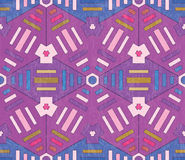 Geometrical seamless pattern Royalty Free Stock Photos