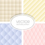 Geometrical seamless pattern collection Royalty Free Stock Image