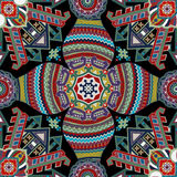 Geometrical seamless pattern. Ethnic wallpaper Royalty Free Stock Photography