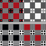Geometrical seamless pattern Stock Images