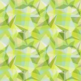 Geometrical seamless pattern illustration Royalty Free Stock Image