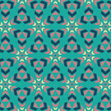 Geometrical seamless pattern Stock Image