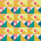 Seamless Abstract vector background with grunge effect. EPS10. Geometrical seamless pattern. mosaic tile design. modern vector background texture. bright print Stock Illustration