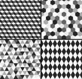 Geometrical seamless pattern Stock Image
