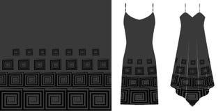 Geometrical seamless pattern. Underwear concept. Horizontally seamless. Vector illustration. Eps 10 Royalty Free Stock Photos