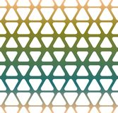 Geometrical seamless pattern. Vector illustration in retro colors Royalty Free Stock Images