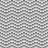 Geometrical Seamless Pattern waves on white background. Available in high-resolution jpeg in several sizes & editable eps file, can be used for wallpaper Royalty Free Stock Images