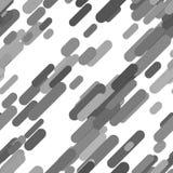 Geometrical seamless rounded diagonal stripe pattern background Royalty Free Stock Image