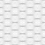 Geometrical Seamless shaded oval shape lines on white background. Available in high-resolution jpeg in several sizes & editable eps file, can be used for Stock Images