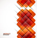 Geometrical squares modern template Stock Photo