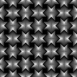 Geometrical star lines Seamless Pattern black background. Available in high-resolution jpeg in several sizes & editable eps file, can be used for wallpaper Royalty Free Stock Photography