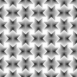 Geometrical star lines Seamless Pattern white background. Available in high-resolution jpeg in several sizes & editable eps file, can be used for wallpaper Stock Images