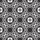 Geometrical star seamless pattern design Royalty Free Stock Image