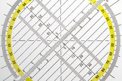 Geometrical triangles stock images