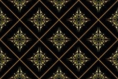 Geometrical vector seamless texture. Vector geometrical rhombus seamless texture Stock Photos