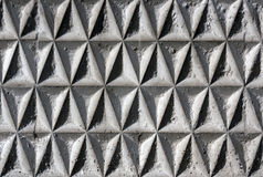 Geometrical wall structure. Stock Photography