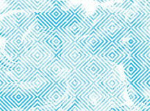 Geometrical wzór z błękita marmuru teksturą Fotografia Royalty Free