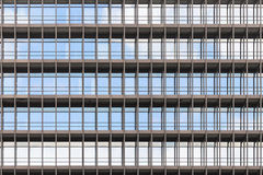 Geometrically correct architectural background of modern office Royalty Free Stock Photos
