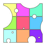 geometrico Immagine Stock