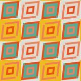Geometrico africano diagonale giallo e bianco Fotografia Stock
