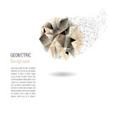 Geometrico astratto illustrazione di stock