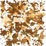 Geometrico astratto Faccia esplodere il fondo Illustrazione EPS10 di vettore Immagini Stock Libere da Diritti