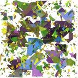 Geometrico astratto Faccia esplodere il fondo Illustrazione EPS10 di vettore Immagine Stock Libera da Diritti