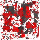Geometrico astratto Faccia esplodere il fondo Illustrazione EPS10 di vettore Fotografie Stock