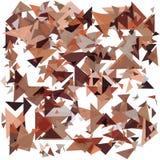 Geometrico astratto Faccia esplodere il fondo Illustrazione EPS10 di vettore Fotografie Stock Libere da Diritti