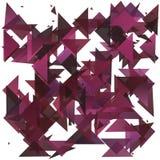 Geometrico astratto Faccia esplodere il fondo Illustrazione EPS10 di vettore Fotografia Stock
